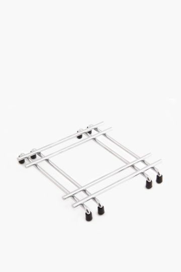 Square Chrome Trivet
