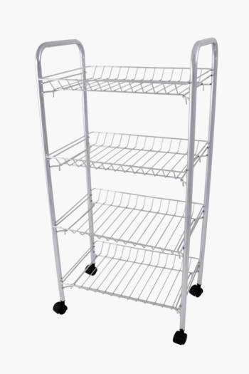 4 Tier Vegetable Rack With Wheels