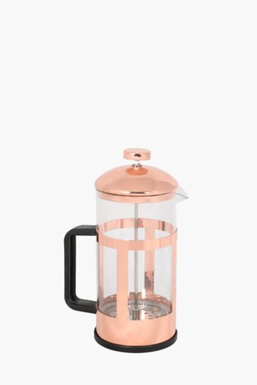 Copper And Glass Coffee Plunger