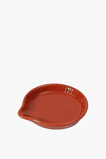 Ceramic Dotted Spoon Rest
