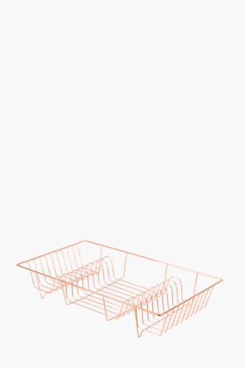 Copper Double Dish Rack