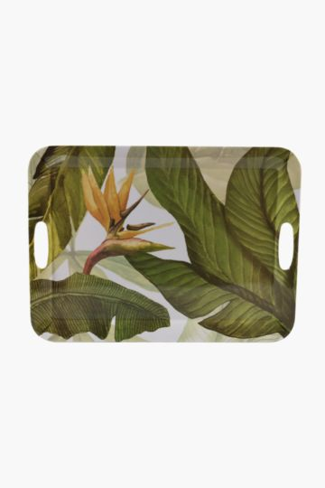 Melamine Tropical Tray, Extra Large
