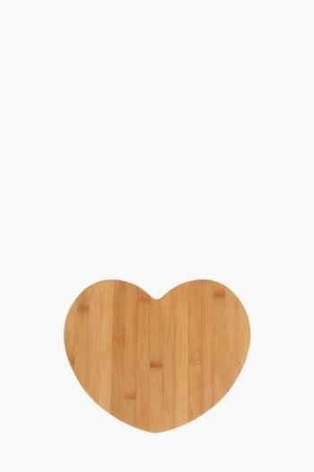 Bamboo Heart Chopping Board