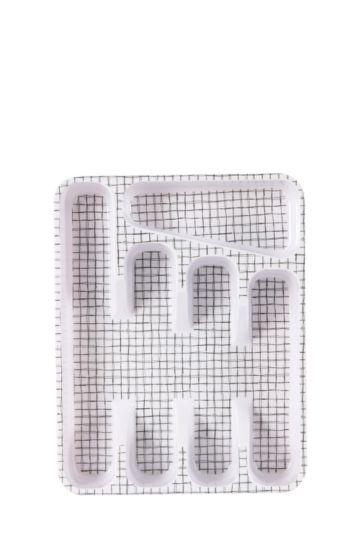 Urban Check Cutlery Tray