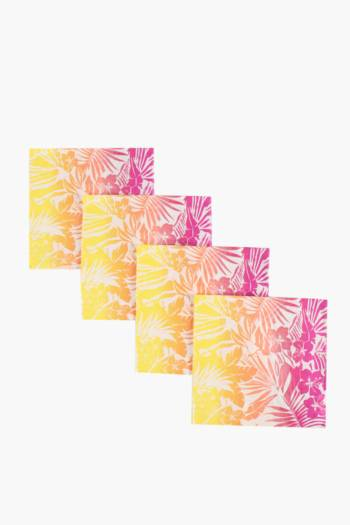 20 Pack Tropical Standard Serviettes