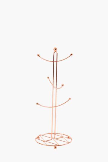 Copper 6 Mug Tree Stand