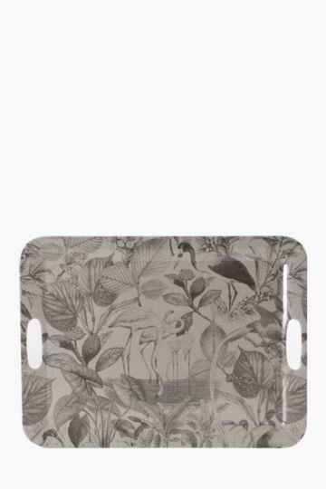 Melamine Tahiti Tray, Extra Large