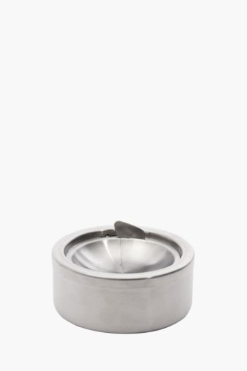 Brushed Stainless Steel Ashtray