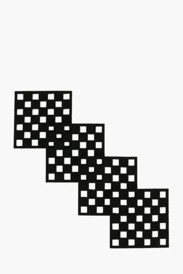 4pk Pixel Felt Coasters