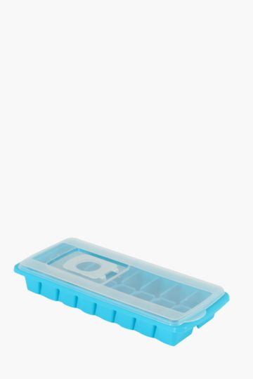 16 Slot Easy Pour Ice Tray With Lid