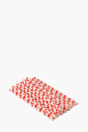 Pack Of 50 Paper Straws