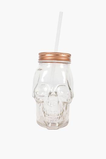 Skull Glass Sippy Cup