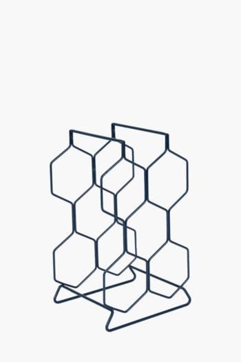 Honeycomb 6 Bottle Wine Rack