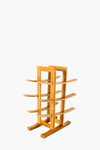 Bamboo 3 Bottle Wine Rack