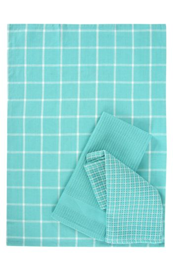 3 Pack 100% Cotton Tea Towels