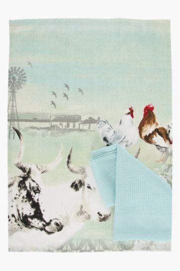 2 Pack Cotton Nguni Tea Towels