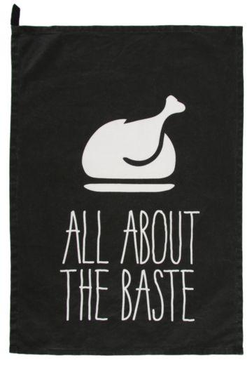About The Baste Cotton Tea Towel