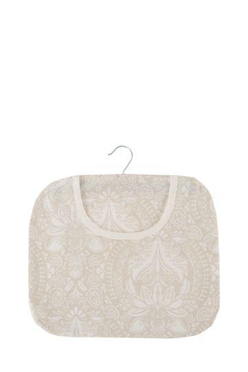 100% Cotton Floral Peg Bag