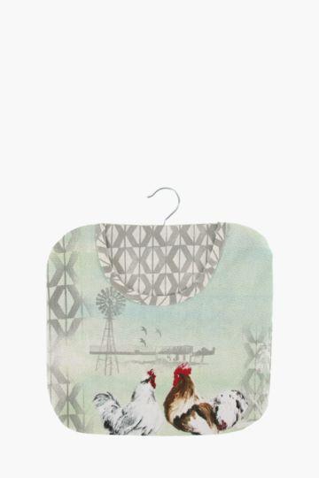 Nguni Rooster Peg Bag