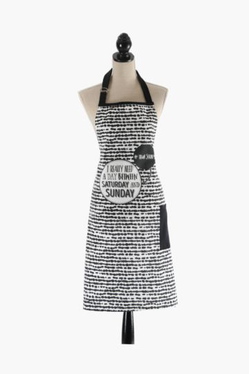 100% Cotton Weekday Apron