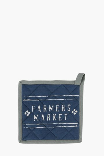 Farmers Market Pot Holder