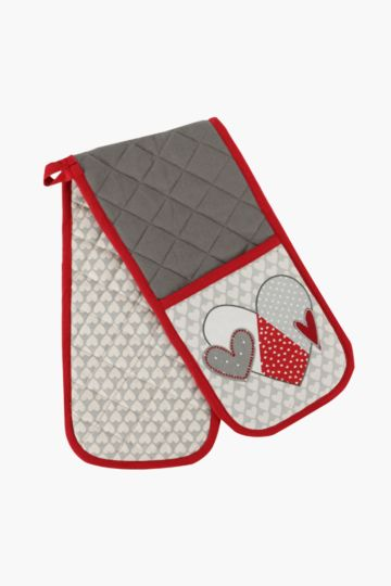 Hearty Love Double Oven Glove