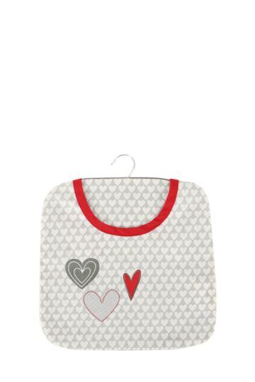 Loving Hearts Peg Bag