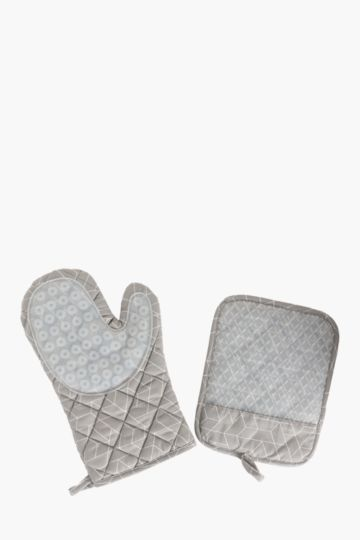 Neoprene Oven Glove Set