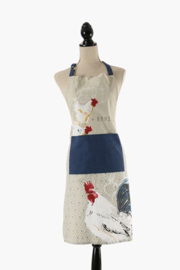 Rooster 100% Cotton Apron