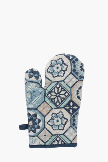 100% Cotton Morrocan Single Oven Glove
