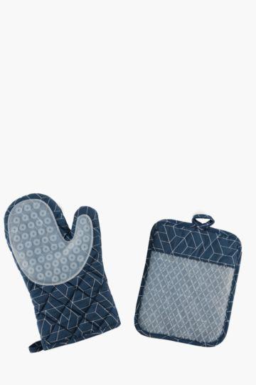 2 Piece Oven Glove Set