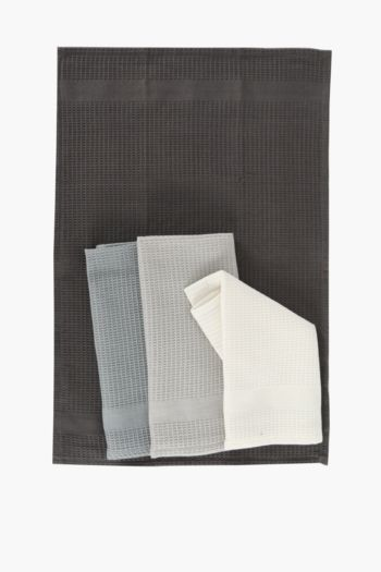 4 Pack 100% Cotton Tea Towels