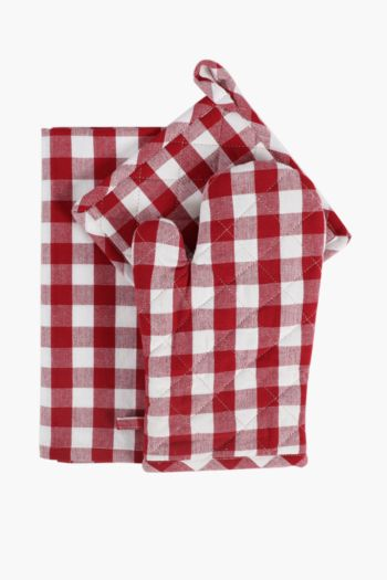 3 Pack Stripe Linen Set