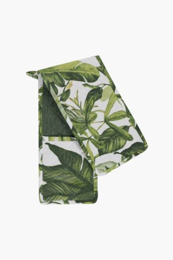 100% Cotton Tropical Double Oven Glove