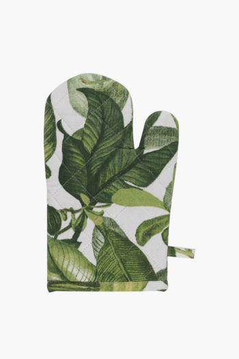 100% Cotton Tropical Oven Glove