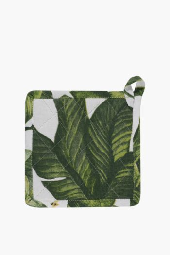 100% Cotton Tropical Pot Holder