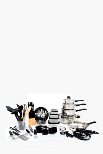 80 Piece Kitchen Starter Set