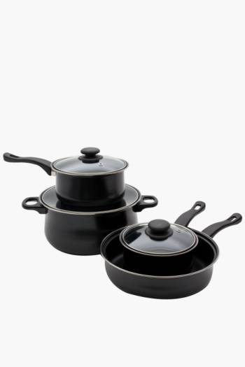 7 Piece Carbon Steel Cookware Set