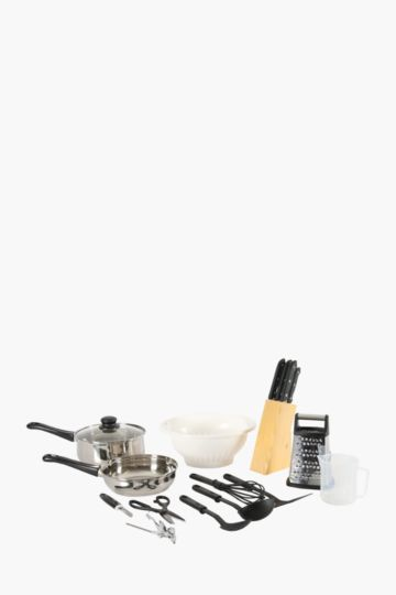 21 Piece Kitchen Set