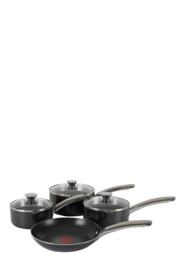 Tefal 7 Piece Easy Strain Cookware Set