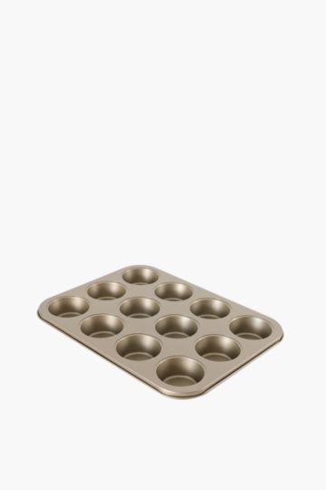 Non-stick Muffin Tray 12 Piece