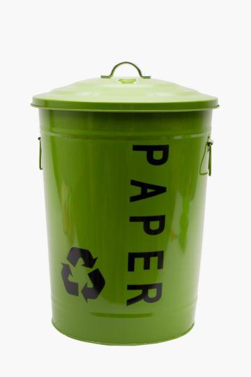 Galvanized Recycle Bin, 50l