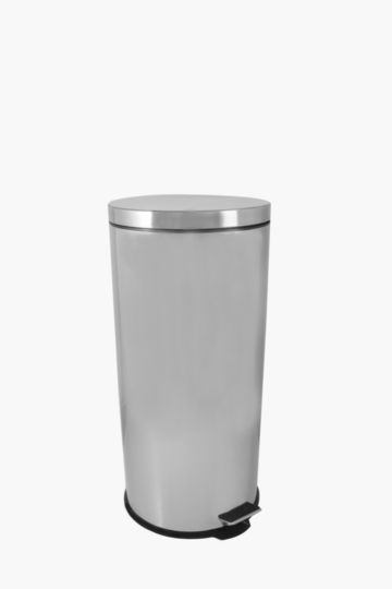Stainless Steel Round Step Dustbin, 12l
