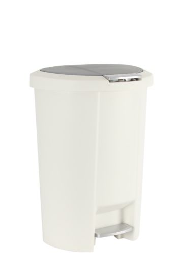 Oval Push And Pedal Dustbin 10l
