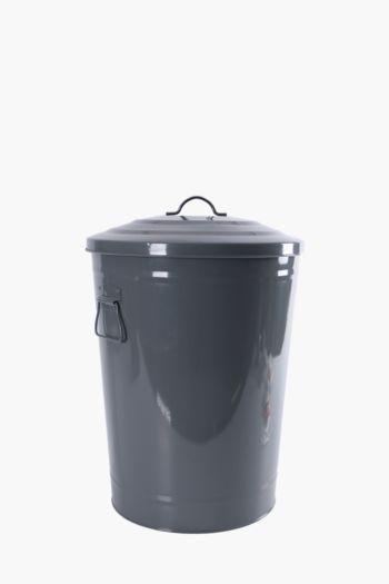 Galvanised Storage Dust Bin