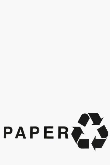 Vinyl Trash Can Decal