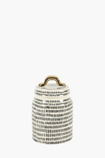 Marjorca Stoneware Canister