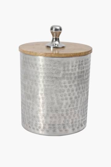 Aluminium Scratch Storage Canister, Large