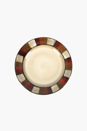 Mosaic Horizon Stoneware Side Plate