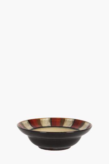 Mosaic Horizon Stoneware Bowl